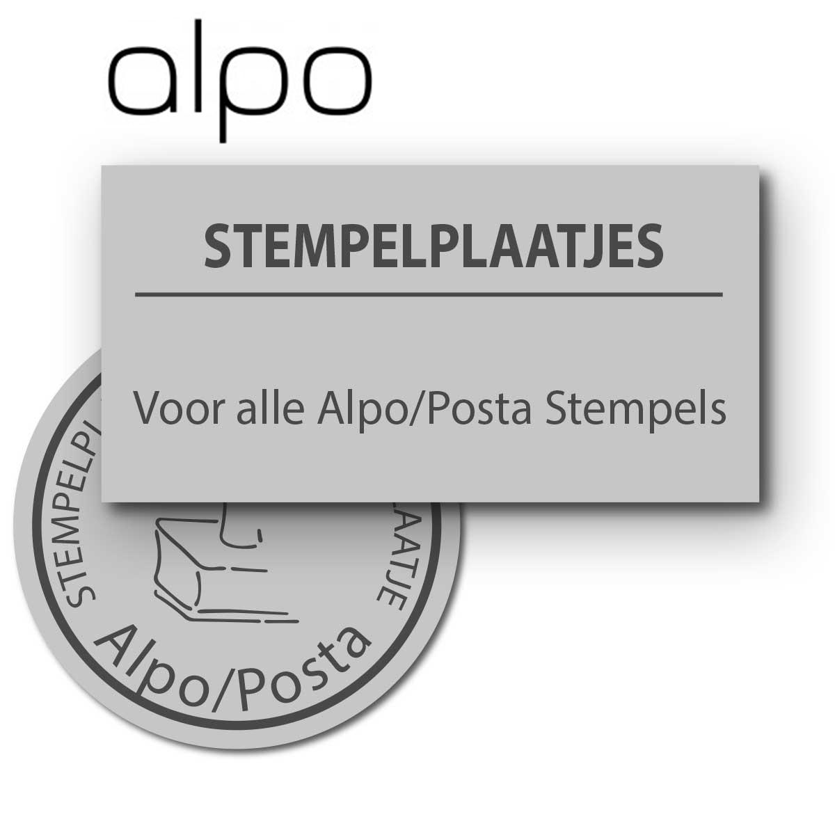 Alpo / Posta tekstplaatjes