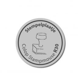 Stempelplaatje Colop Stampmouse R30 stempel